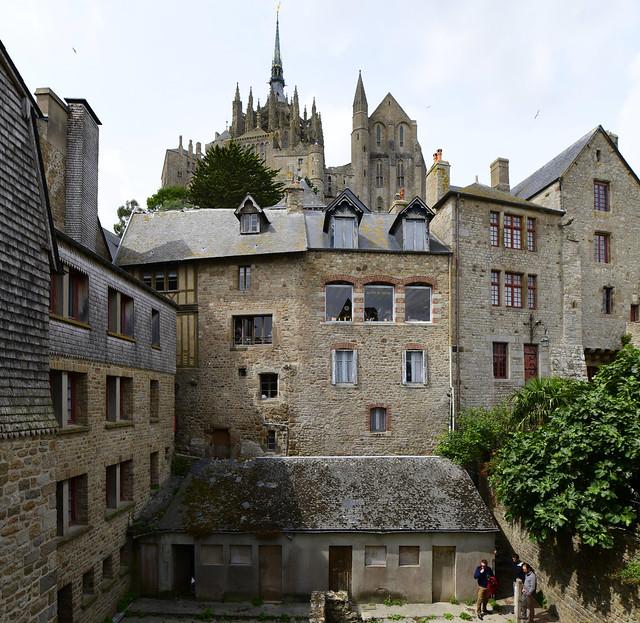 Mont St. Michel, Normandie, France, August 2019 766