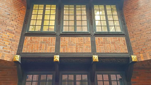 20190903_141133 Fassade mit historischer Gestaltung in der Böttcherstraße in Bremen