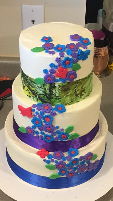 Cake by Bam's Bakery