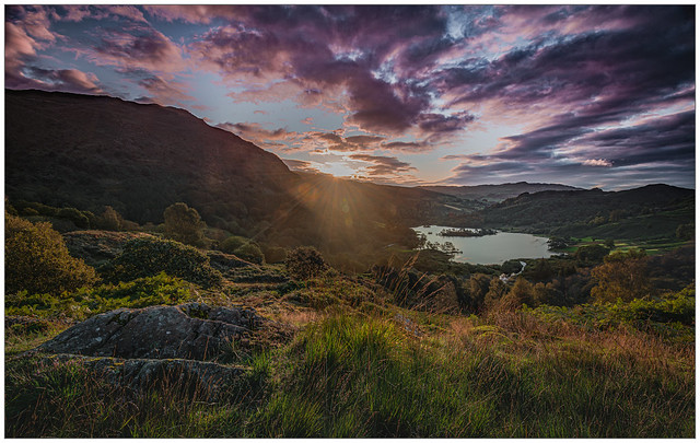 Sunrise over Rydalwater