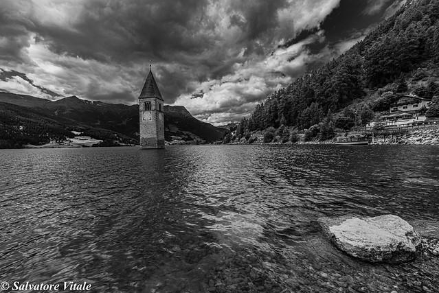 thunderstorm - Reschensee