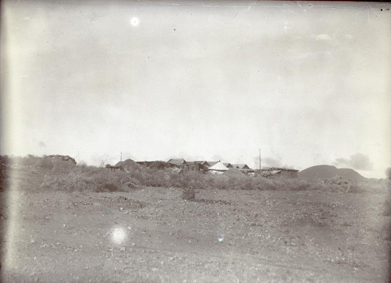 336. 1899. Абиссиния. г. Аддис-Абеба. Бульга. ставка императора Менелика