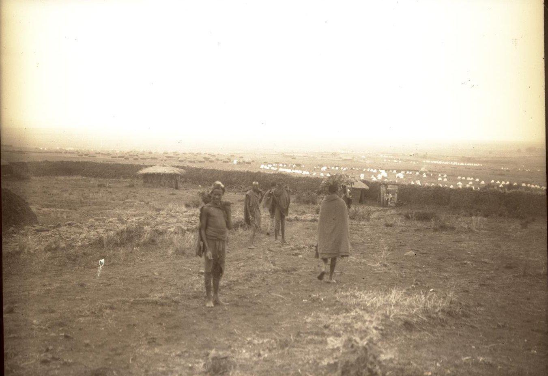 327. 1899. Абиссиния. г. Аддис-Абеба. Рабочие гураге