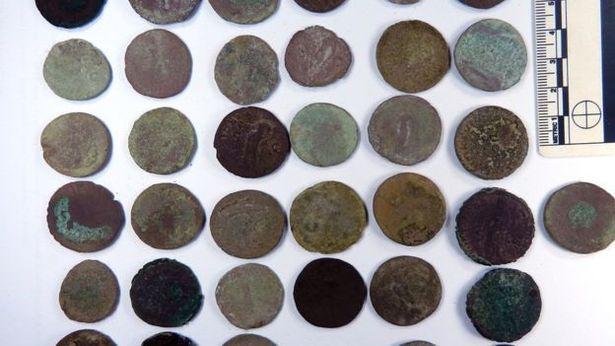 Wem hoard coins