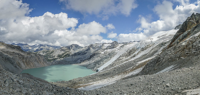 Decker Lake, near Whistler, BC, Canada