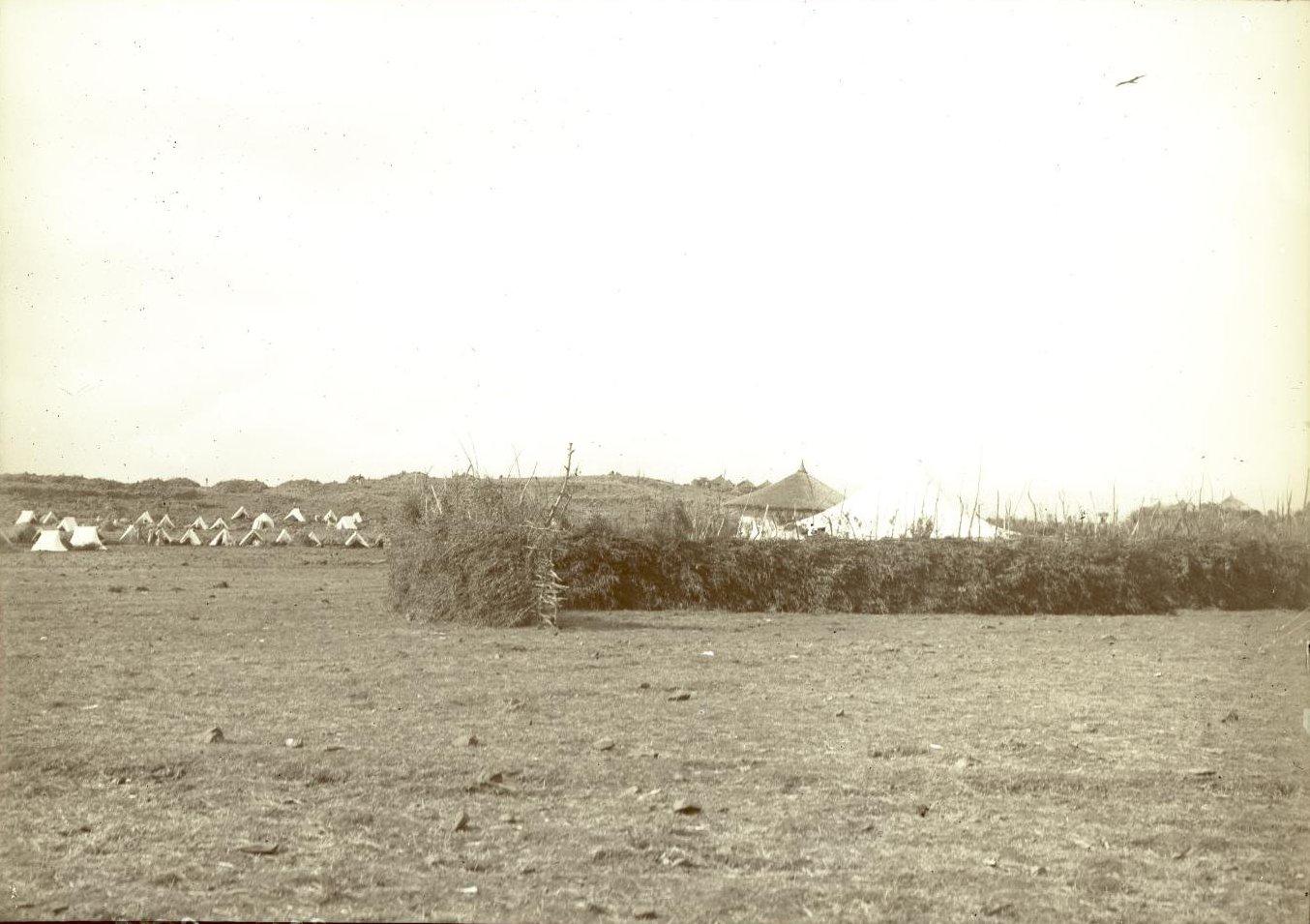 334. 1899. Абиссиния. г. Аддис-Абеба. Бульга. ставка императора Менелика