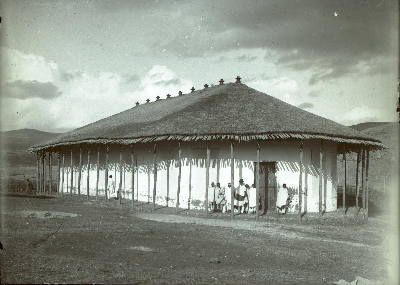 319. 1899. Абиссиния. г. Аддис-Абеба. Русский госпиталь