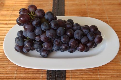 Weintrauben (aus dem Garten von Freunden)