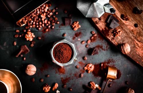 Coffee aromas.