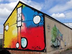 Mural in Cheltenham (for Cheltenham Paint Festival 2019)
