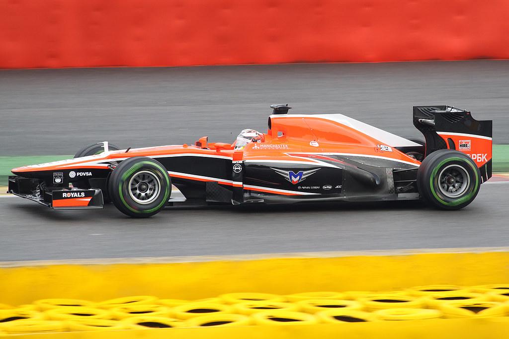 Marussia MR02 Jules Bianchi