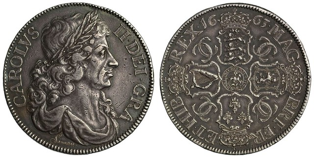1663 Silver Pattern Reddite Crown