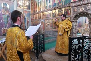 08.09.2019 | Воскресная литургия в Иверском монастыре