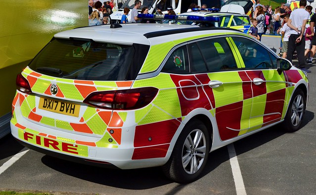 Staffordshire Fire & Rescue Vauxhall Astra