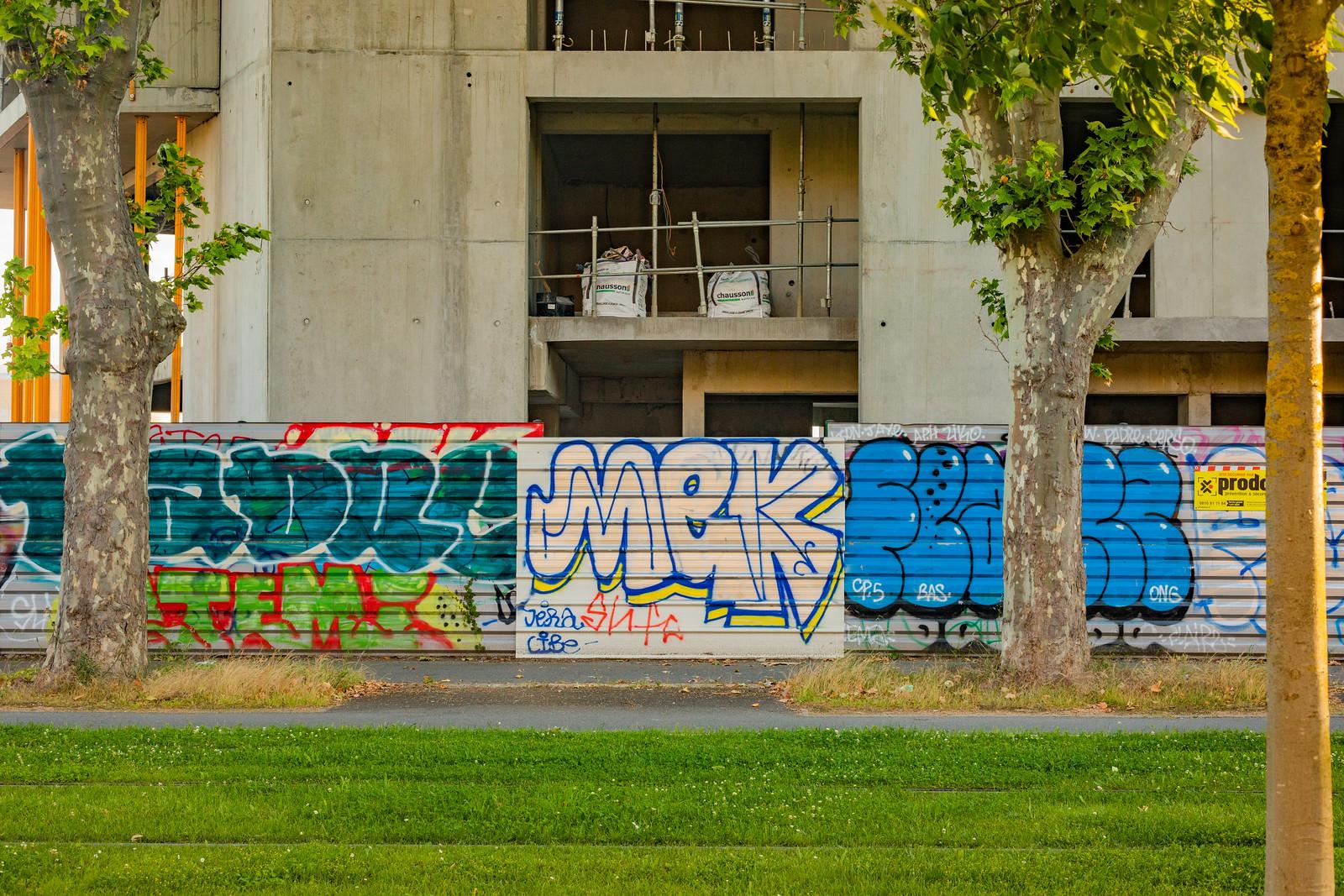 Graffitis à Toulouse