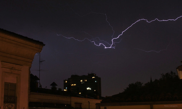 storm over Piacenza