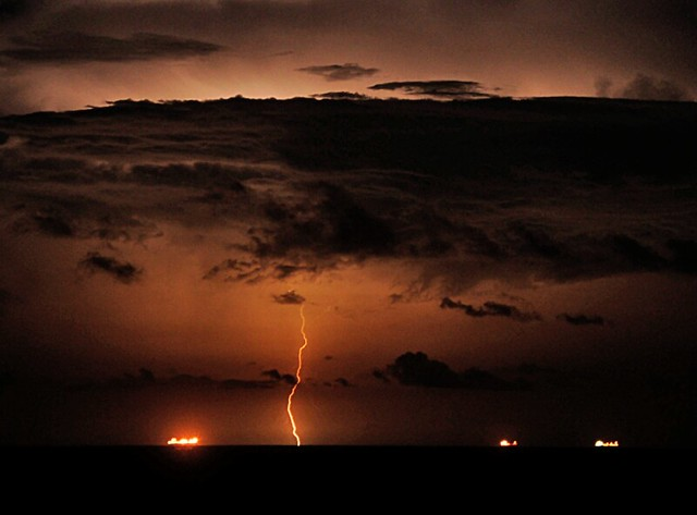 Lightning Storm in the Gulf