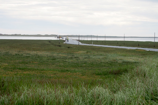 Beal and the Holy Island Causeway