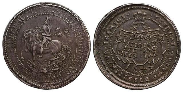 1644 Oxford Mint Silver Pound