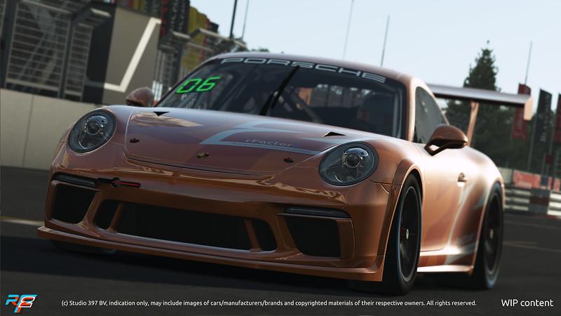 rFactor 2 Porsche GT3 Cup car