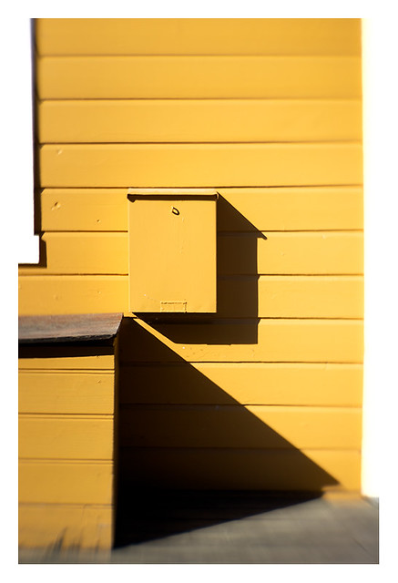Yellow and shadow