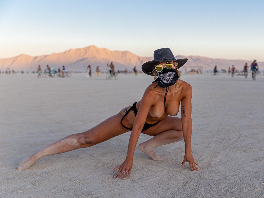 Burning Man Nude Women