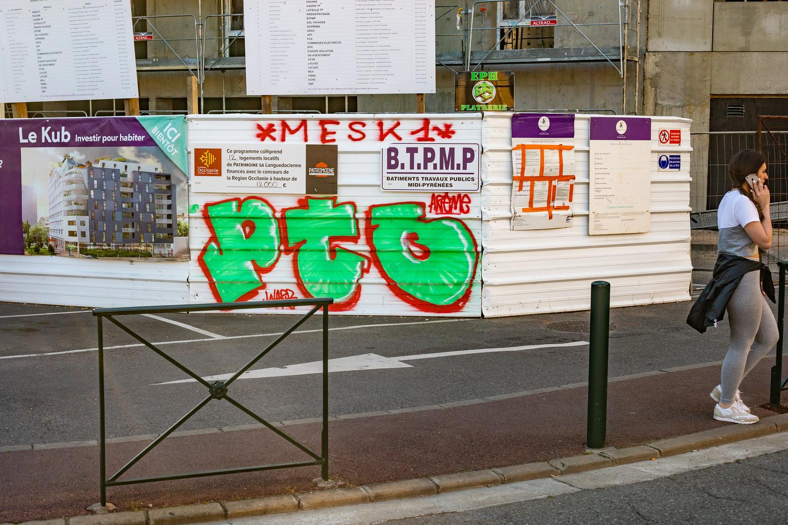 Streetart à Toulouse, par Boris Sécretin 2019