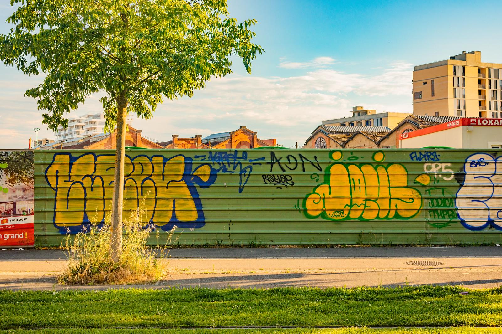 Graffitis à Toulouse, 2019