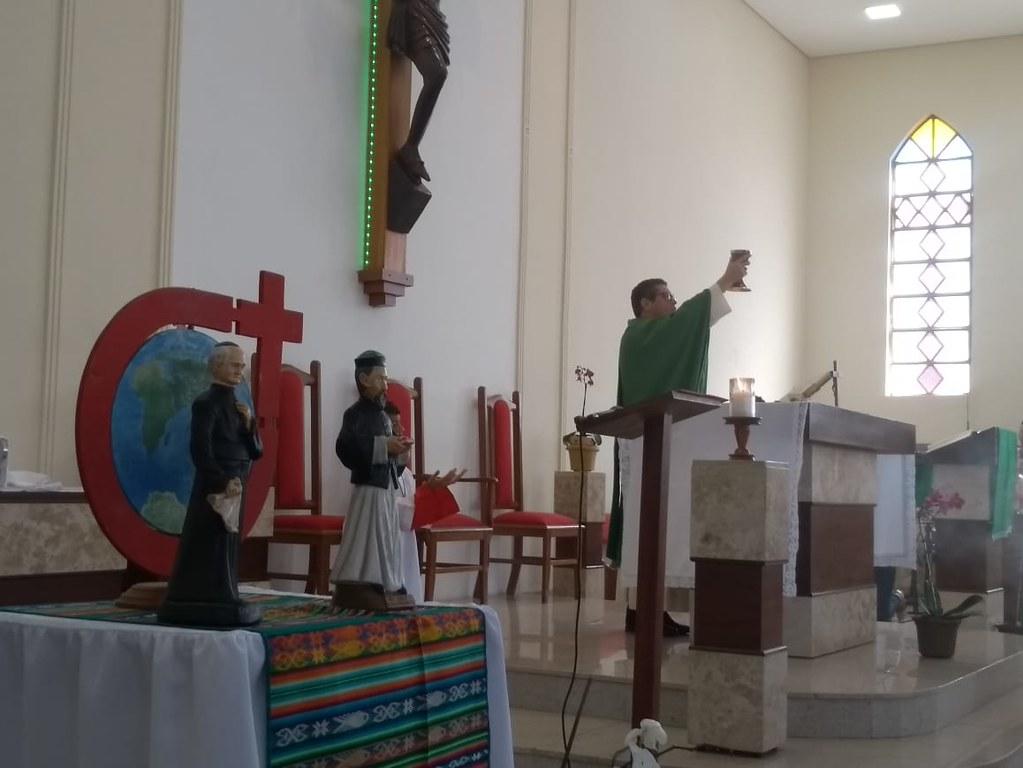 Missa em intenção aos 144 anos da Congregação do Verbo Divino