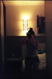 hotel room loneliness.