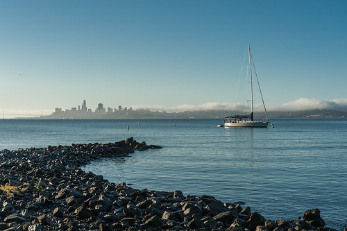 San Francisco Skyline from Sausalito