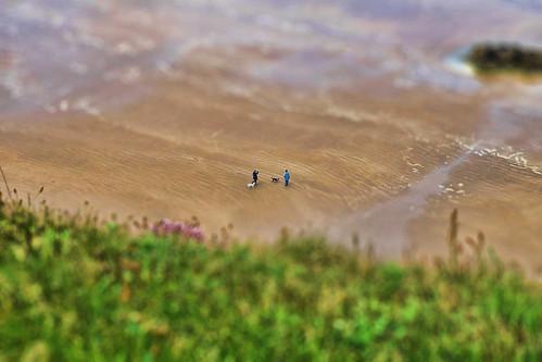 Castlerock NIR - Downhill seashore - TiltShift