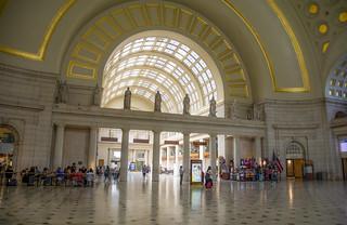 In Union Station, Washington DC