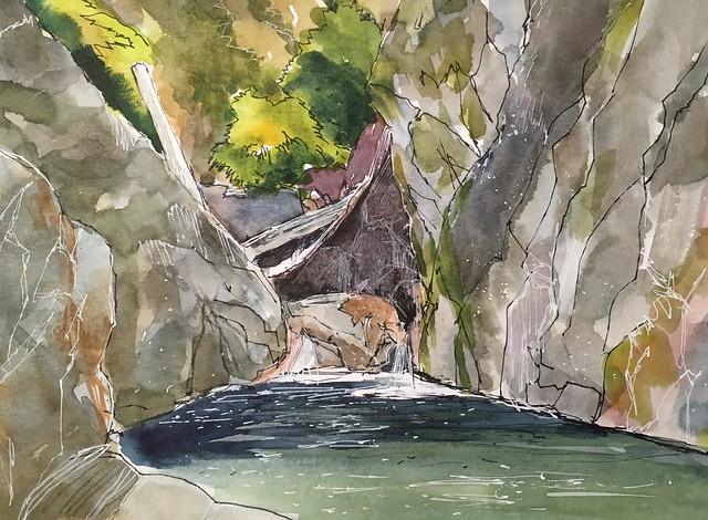 190818 Big Sur River Gorge