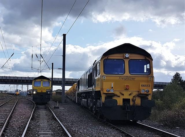 Tyne Yard - Waiting to Depart