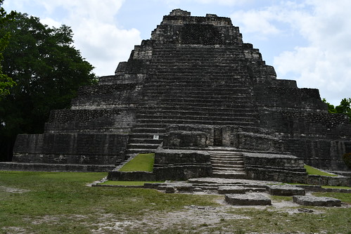 Temple 1. From History Comes Alive at the Chacchoben Ruins Near Puerto Costa Maya