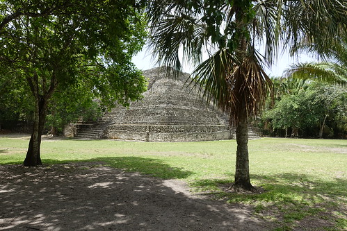 Temple 24. From History Comes Alive at the Chacchoben Ruins Near Puerto Costa Maya