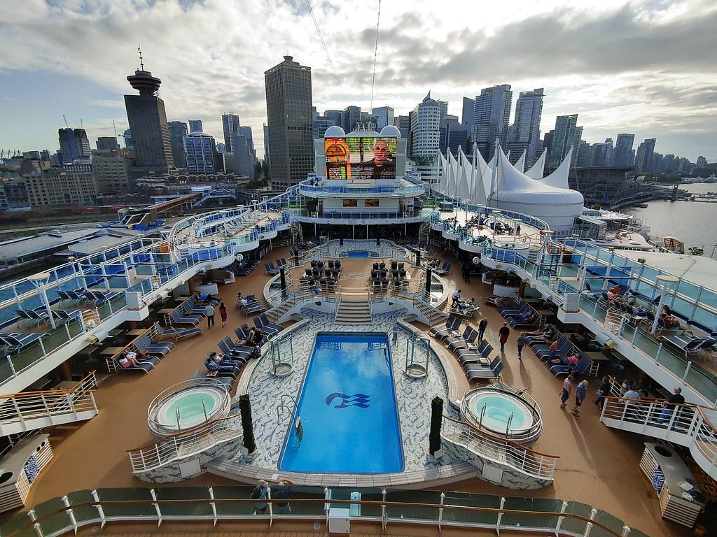 Kreuzfahrt von Vancouver nach Anchorage, Royal Princess