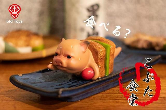 「新增販售資訊!」去居酒屋小酌必備玩具!! Bid Toys 粗豬食堂系列新作「YAKI」美味上桌
