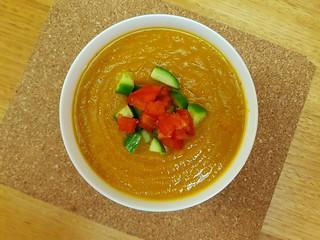 Mum's Curry Pumpkin Soup