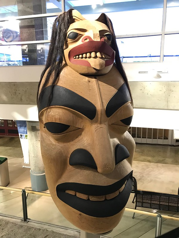 Human/Bear Masks  by Dempsey Bob