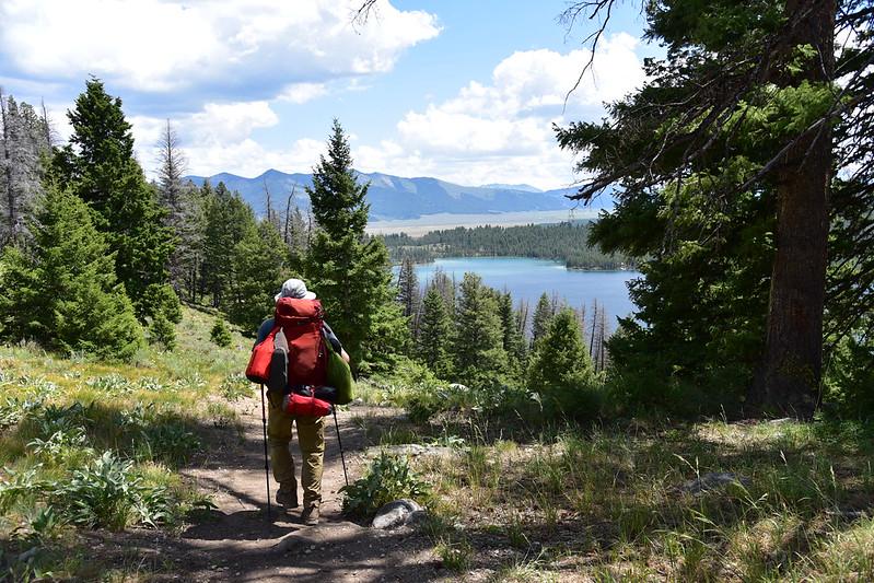 Descending to Pettit Lake