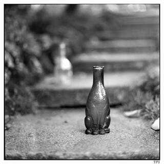 headless cat bottle