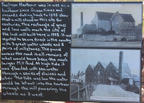 History of the tide mill at Sidlesham Quay