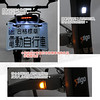 505-STIB-01 STIGO PLUS折疊電動自行車12輪(北歐)碟煞內建方向燈前後燈36V11.6AH40公里後視鏡紅色閃電標章