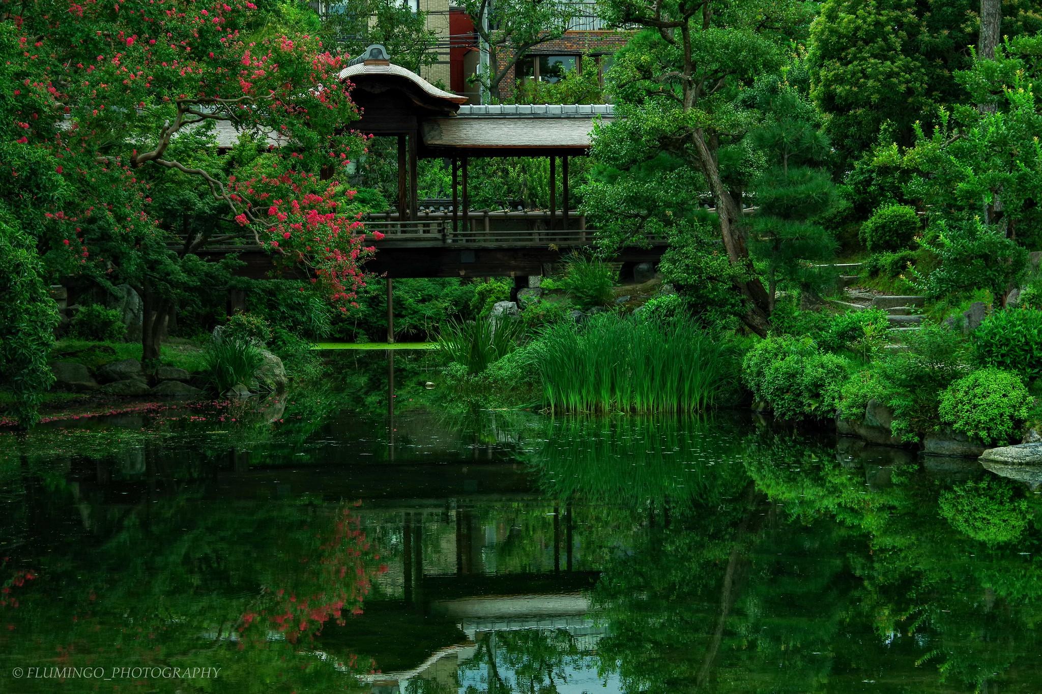 渉成園 枳殻邸