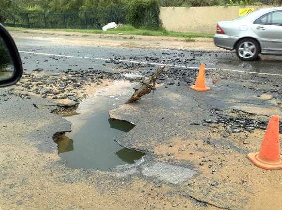 3368 Claim Damages of your Vehicles caused by Speed Bumps and Potholes