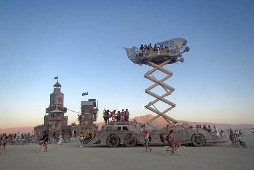 Art Car at Folly (0502)