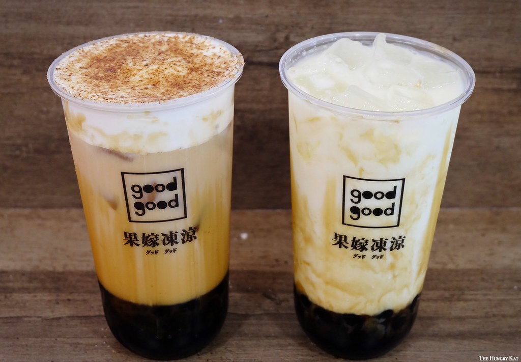 The Hungry Kat — GoodGood Milk Tea Opens First Outlet in Quezon...