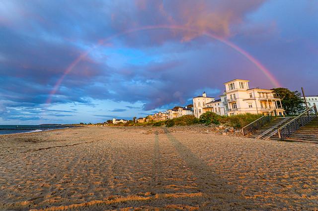 Rainbow Baltic Sea Heiligendamm 5084